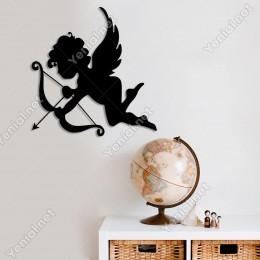 Eros Aşk Tanrıçası Duvar Oda Ev Aksesuarı Ahşap Tablo 48x50cm