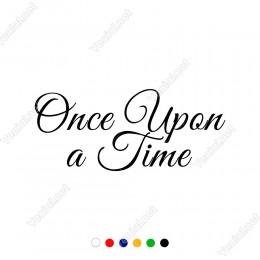One Upon A Time Duvar Aksesuarı Duvar Stickerı 60x25cm