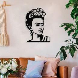 Frida Kahlo Duvar Oda Ev Aksesuarı Metal Tablo 50x36cm