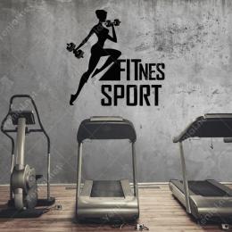 Crossfit Spor Vücut Geliştirme Fitness Sticker