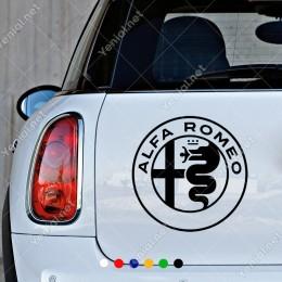 Alfa Romeo Logo Oto Araç Araba Stickerı Yapıştırması