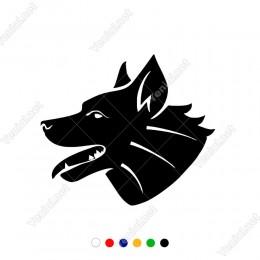 Dilini Dışarı Çıkartan Asil Köpek Sticker