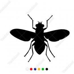 Kanatları Açık Ana Arı Sticker Yapıştırma