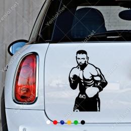 Ünlü Boksçu Muhammed Ali Etiket Sticker Yapıştırma