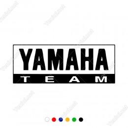 Yamaha Team Motor Takımı Logosu Sticker Yapıştırma