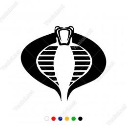 Yılan Karikatür Bardian Vinil Araba Sticker Yapıştırma