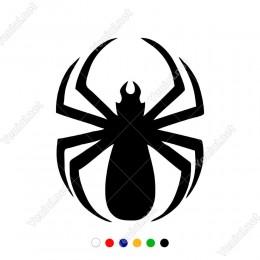 Yukarıya Doğru Çıkan Örümcek Çıkartma Sticker