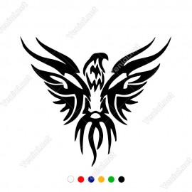 Zümrüdü Anka Kuşu Modifiye Araba Oto Sticker