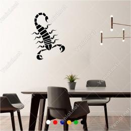 Aşağıya Doğru İlerleyen Akrep 40x60 cm Duvar Sticker