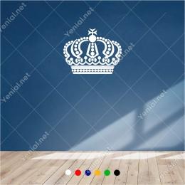 Farklı Desende Yapılmış Kral Tacı 55x60 cm Duvar Sticker