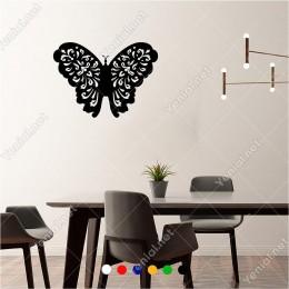 Kocaman Büyük Desenli Kelebek Butterfly 60x40 cm Duvar Sticker