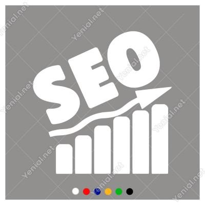 Yukarıya Doğru Çıkış Analizi ve Seo Yazısı Sticker