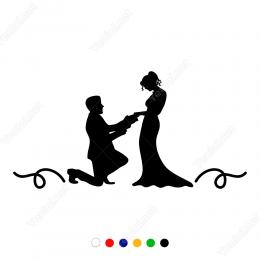 14 şubat Sevgililer Günü Sticker