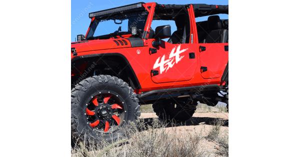 4X4 Off Road >> 4x4 Off Road Arca Oto Jeep Sticker Yapistirma