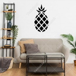 Ananas Duvar Sticker -  30x60cm