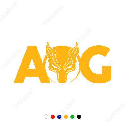 AOG Börü Kurt Sticker
