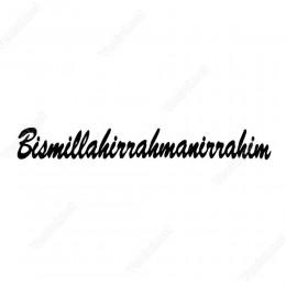 Bismillahirrahmanirahim Etiket Sticker
