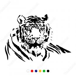 Dinlenen Aslan Sticker Yapıştırma  Yapıştırma