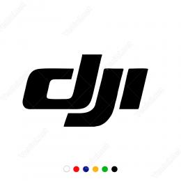 Dji Logo Yazısı Sticker Yapıştırma