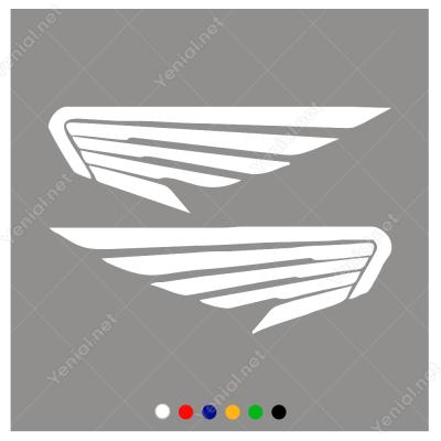 Honda Kanatları Motor Aksesuarı Sticker
