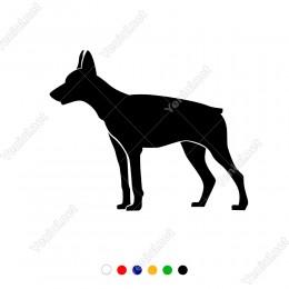 Isırmak İçin Vakit Kollayan Köpek Sticker