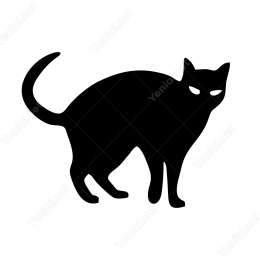 Kedi Sticker Etiket Yapıştırma