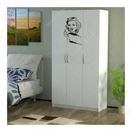 Marilyn Monroe Potresi Sticker Yapıştırma