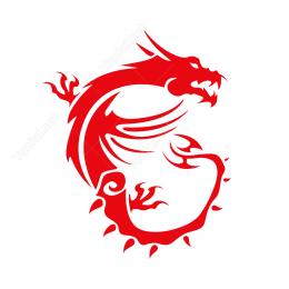 Msı Logo Sticker Etiket Yapıştırma