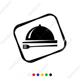 Mutfak Kaşık Bıçak Kazan Sticker Yapıştırma Süsleme