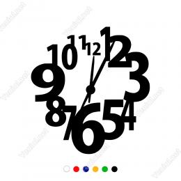 Saat Sticker Yapıştırma