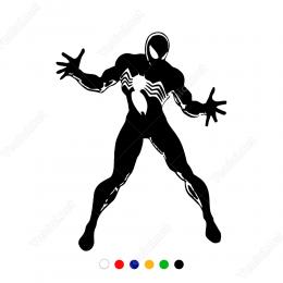 Spider Man Örümcek Adam  Sticker Yapıştırma