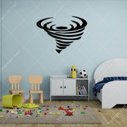 Tazmanya Canavarı Hortum Duvar Sticker -  60x44cm