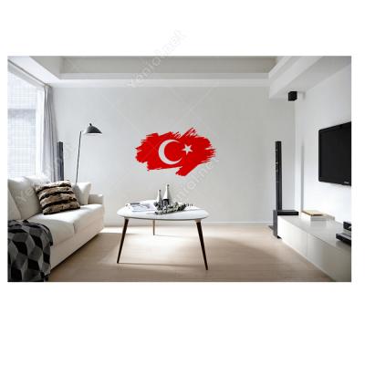 Türk Bayrağı 3 Araç - Motosiklet Sticker Çıkartma