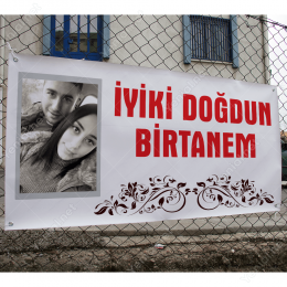 İyiki Doğdun Birtanem Branda Afisi