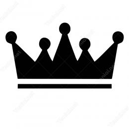 Kral Tacı Sticker Çıkartma