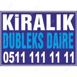 Kiralık Dubleks Daire (Mavi Renk)