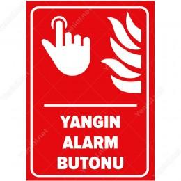 Yangın Alarm Butonu Levhası